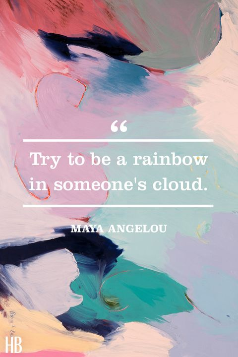 maya angelou​​ color quote