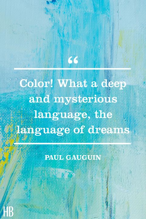 paul gauguin color quote