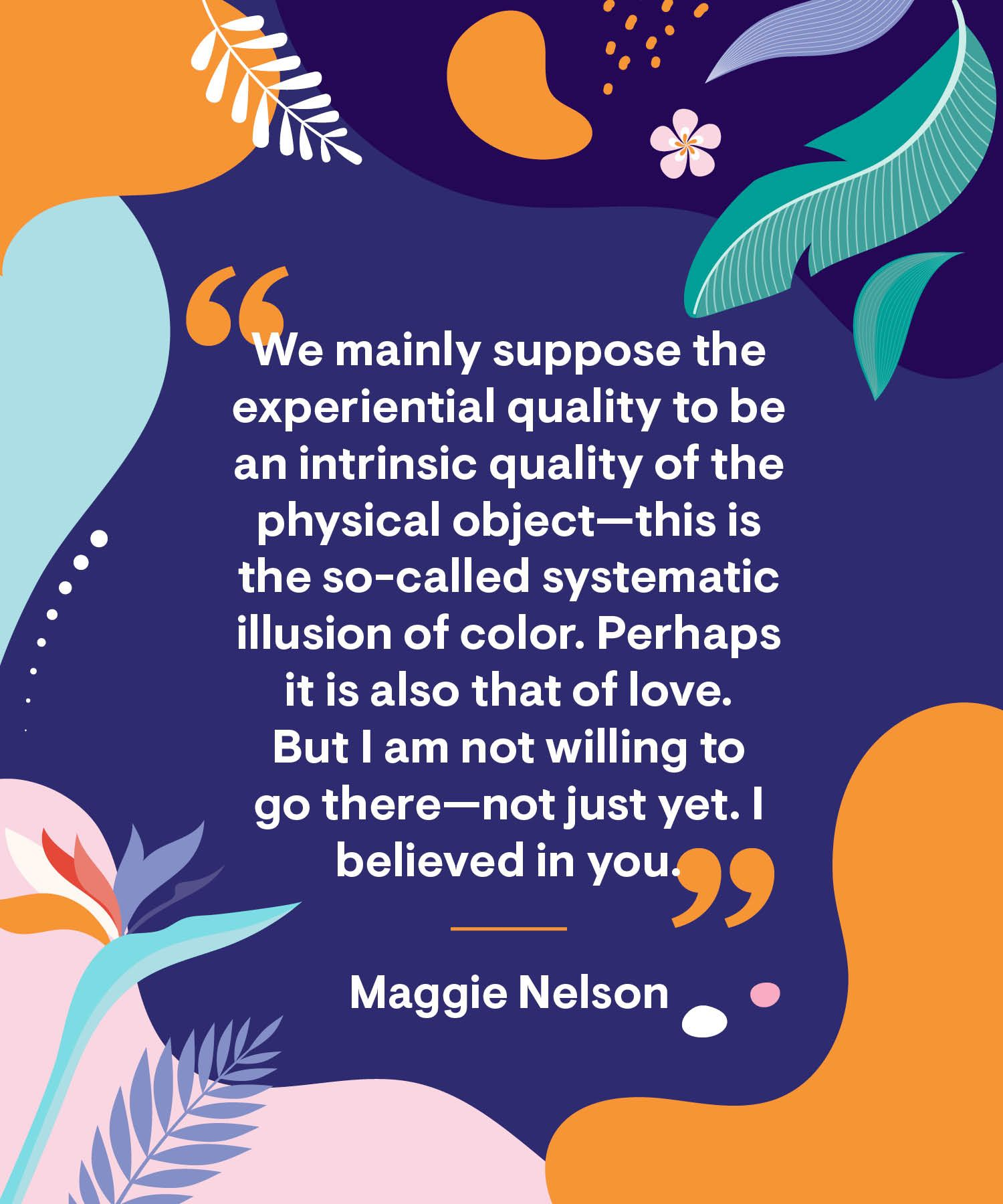 No One Is You And That/'s Your Power Rainbow Quote Print
