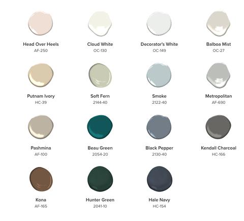 benjamin moore 2019 color of the year metropolitan af 690. Black Bedroom Furniture Sets. Home Design Ideas