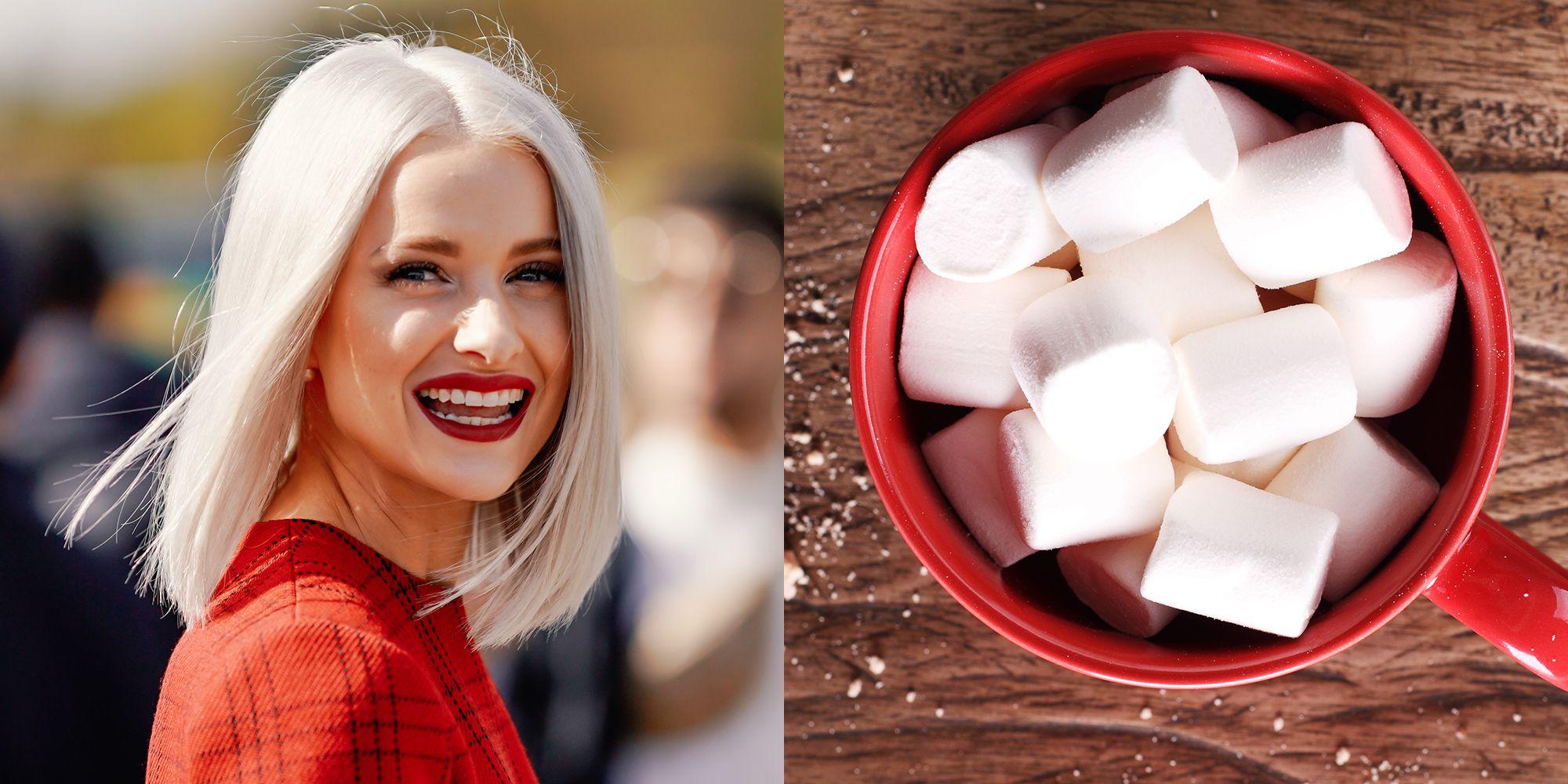 Il colore di capelli più dolce dell'inverno 2019 è ispirato al zuccherato marshmallow (e che sfumature!)