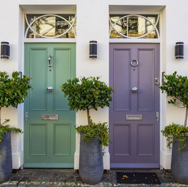 colored doors in london