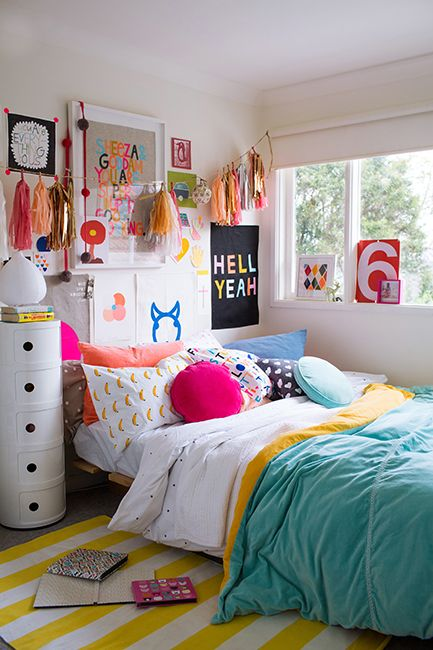 10 Best Teen Bedroom Ideas - Cool Teenage Room Decor for ... on Room Decor For Teens  id=18660