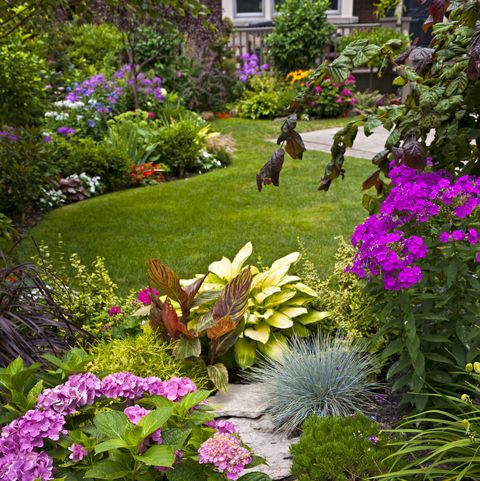 Long Garden Ideas Long Narrow Garden Design Ideas