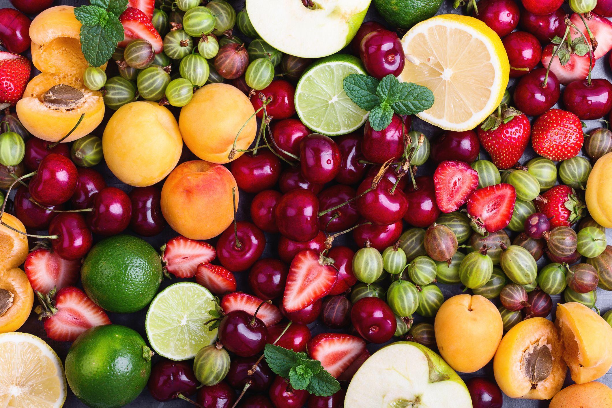 Colorful Fruit Bin