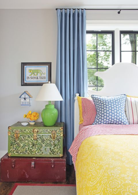 colorful grey bedrooms