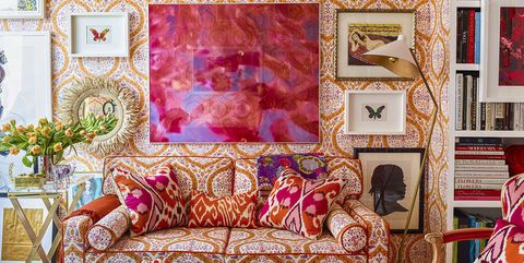 colorful living room furniture. colorful manhattan apartment Room Color Ideas  Decorate with