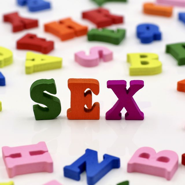 colorful wooden letters spelling out words   sex