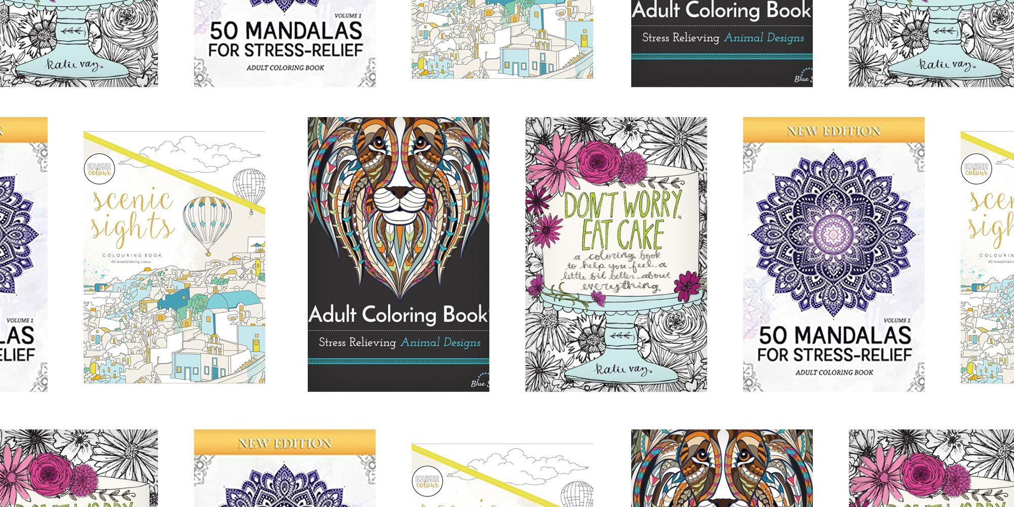 The 10 Best Coloring Books For Adults 2021 Art Coloring Books For Relaxation