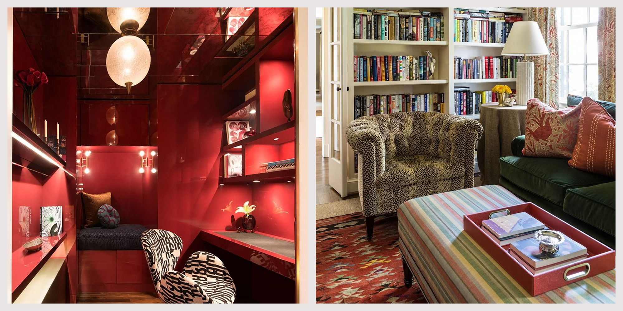 Designers' Favorite Red Color Pairings from Understated to Bold