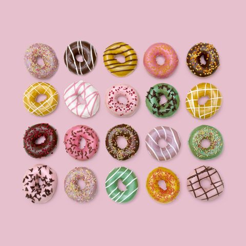 colourful doughnuts
