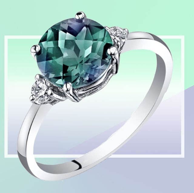 Better Than Diamond >> 19 Colourful Engagement Rings That Are Better Than Diamonds