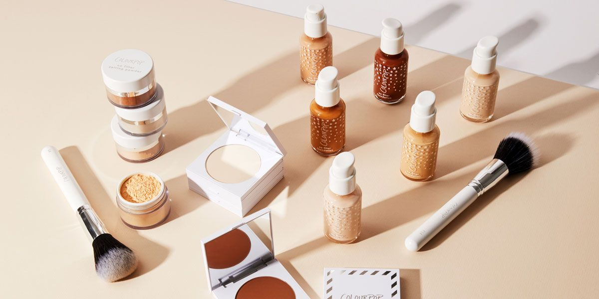 Colourpop Launches 42 Foundation Shades Colourpop No Filter Complexion Collection