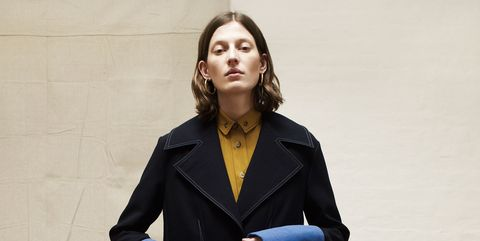 Clothing, Overcoat, Coat, Fashion, Outerwear, Standing, Footwear, Formal wear, Photography, Street fashion,