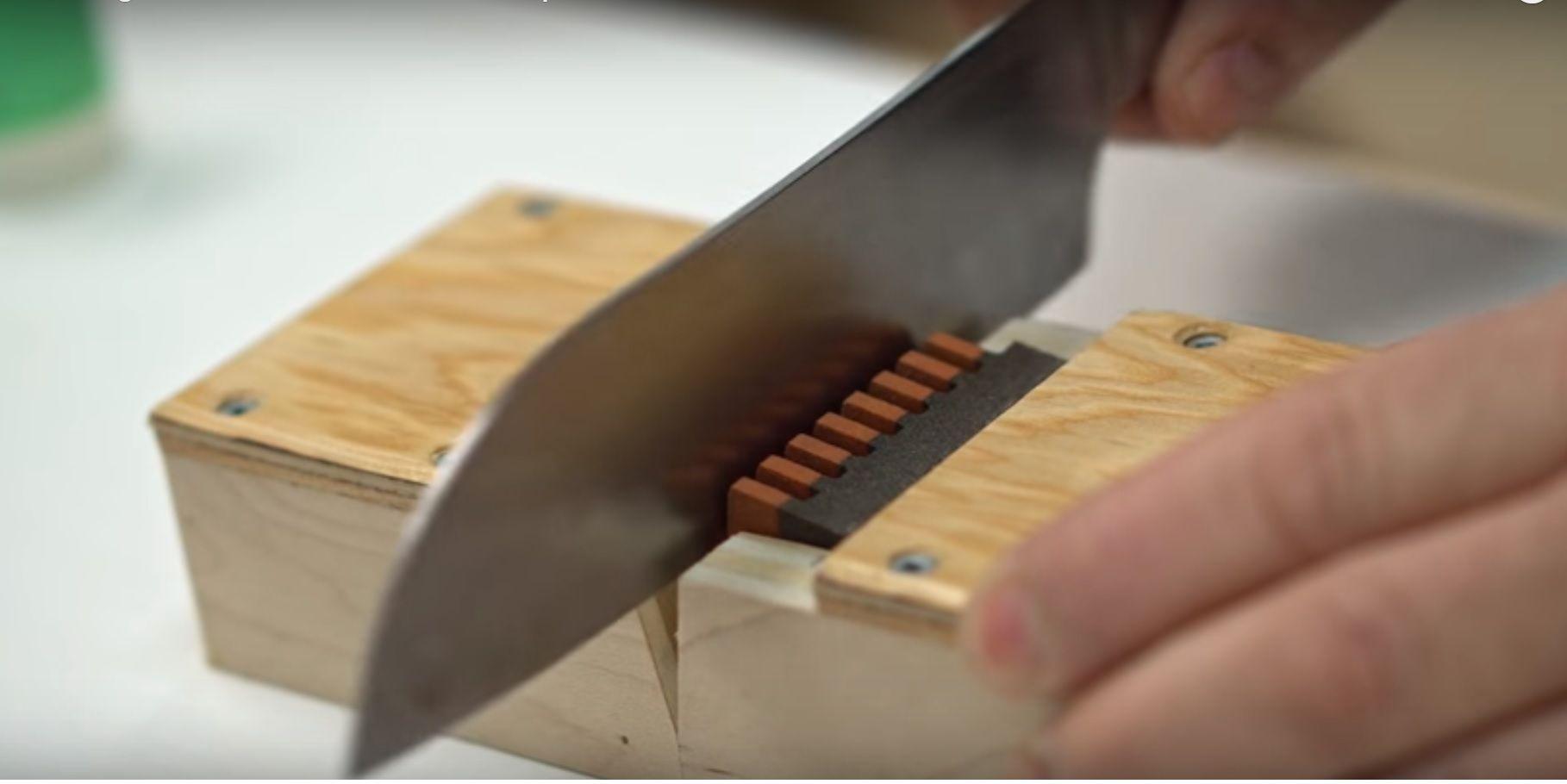 Come affilare i coltelli alla perfezione