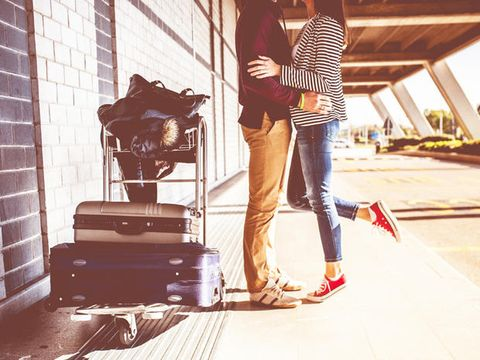 Trousers, Jeans, Denim, Outerwear, T-shirt, Luggage and bags, Street fashion, Brick, Bag, Baggage,