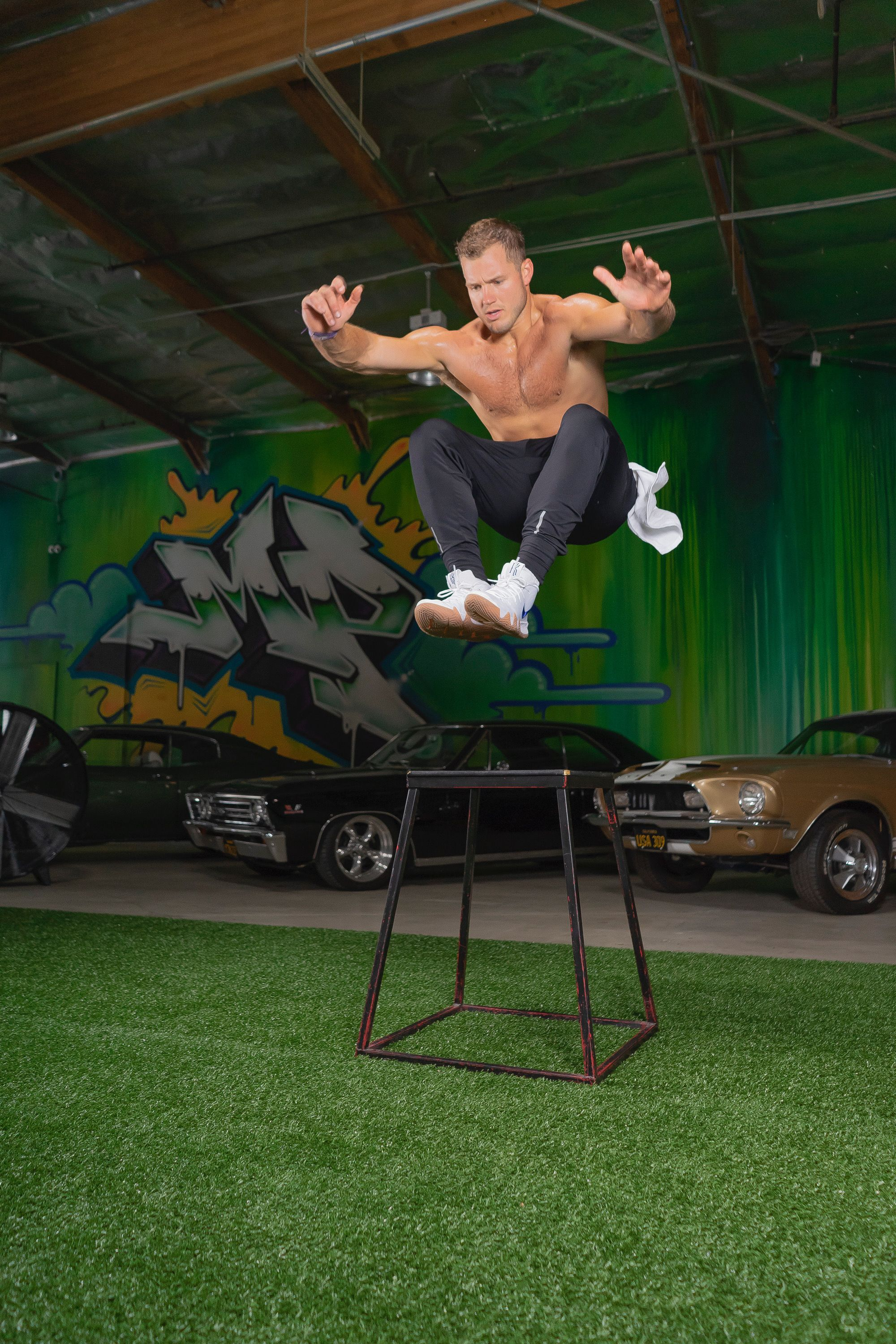 Colton Underwood, Star of ABC's The Bachelor, Lets Us in on His Diet and Workout Routine