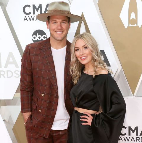 the 53rd annual cma awards colton underwood and cassie randolph
