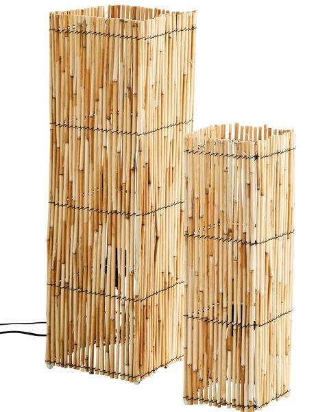 juego de dos columnas de fibra