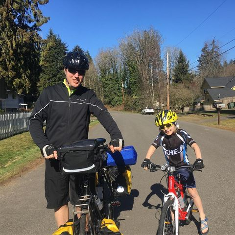 Father and 7-Year-Old Son Take the Long Way on a Bike Ride Across the Country