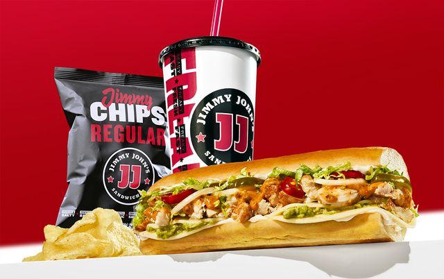 jimmy john's smokin' kickin' chicken sandwich