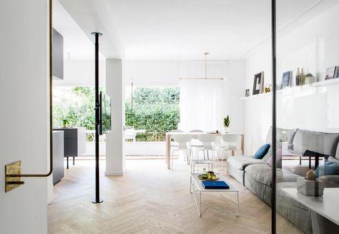 Come arredare una casa di 70 mq luminosa e spaziosa for Dividere una casa di 90 mq