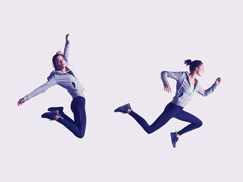 Jumping, Athletic dance move, Dancer, Modern dance, Happy, Footwear, Dance, Running, Choreography, Exercise,