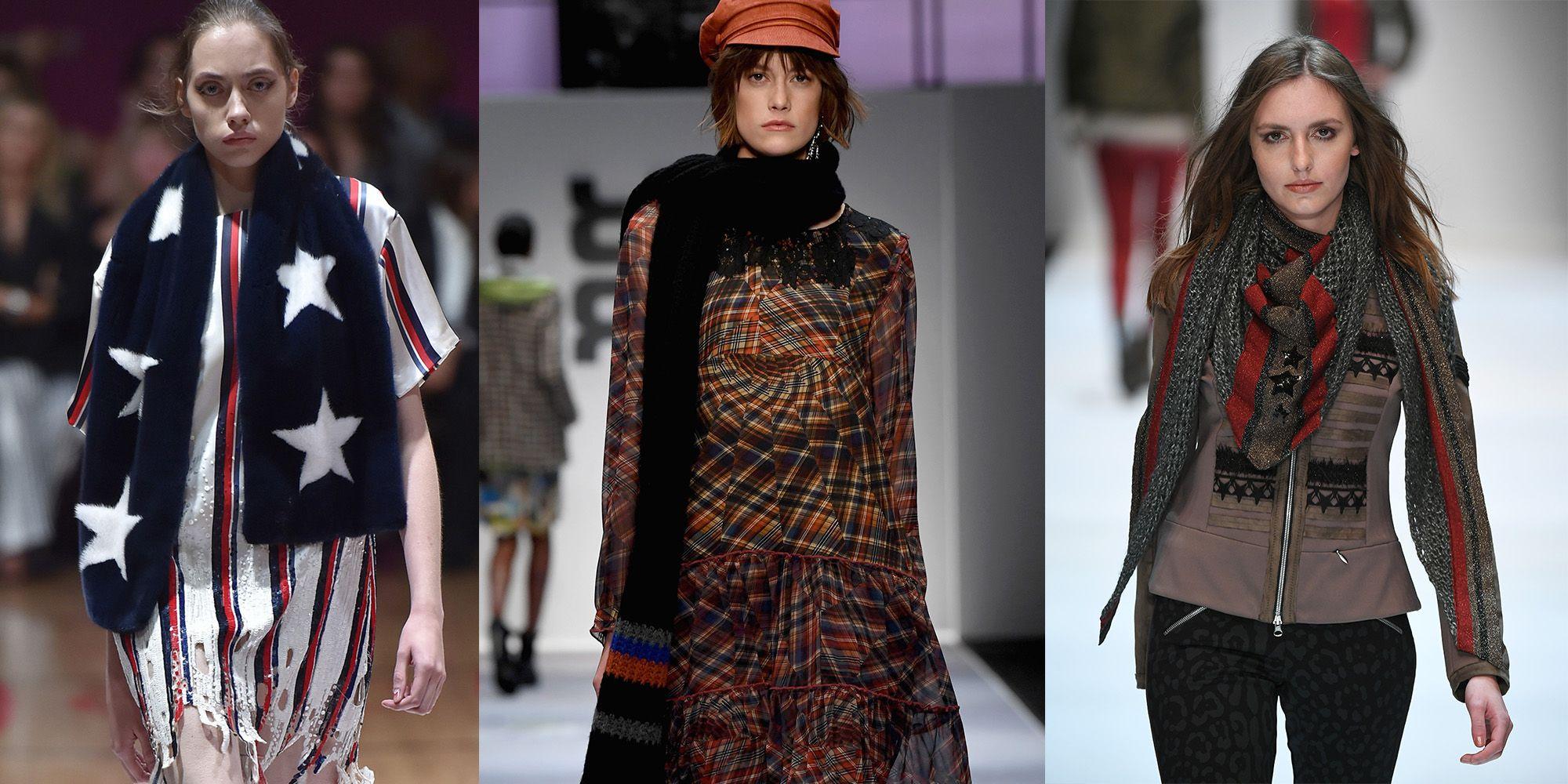 3 modi di indossare la sciarpa