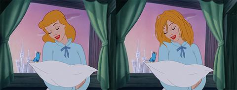 principesse disney capelli veri