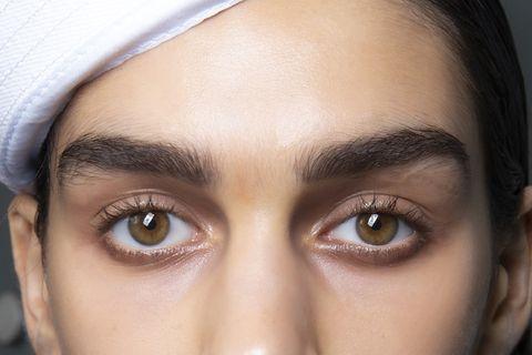 Eyebrow, Face, Forehead, Hair, Eye, Skin, Eyelash, Nose, Cheek, Close-up,