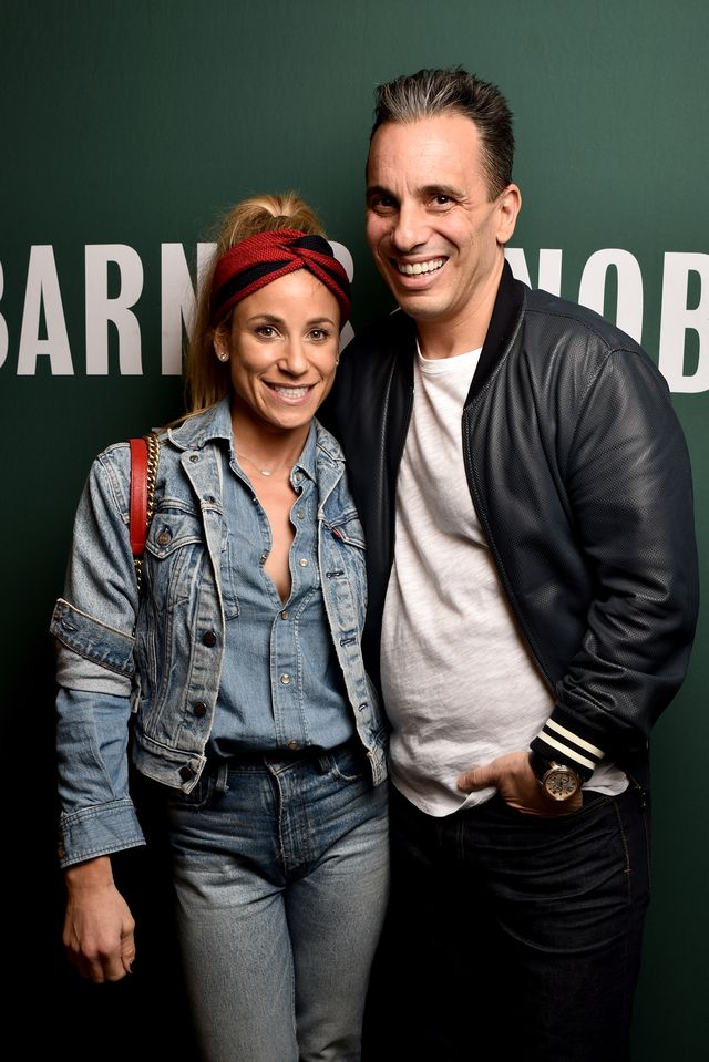 """sebastian maniscalco signs copies of his new book """"stay hungry"""""""
