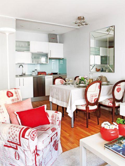 Room, Interior design, Floor, Furniture, Home, Table, Ceiling, Interior design, Wall, Light fixture,