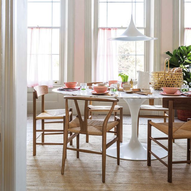 comedor estilo mid century mesa tulip
