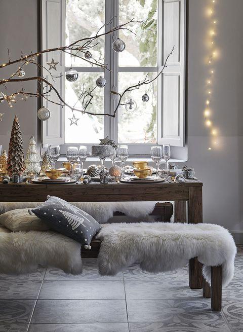 comedor de navidad
