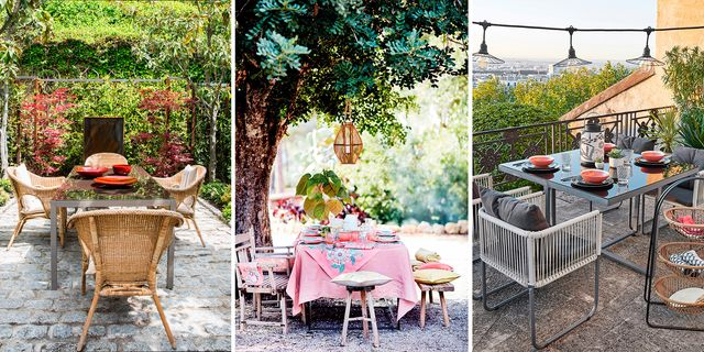 ideas decoración comedores al aire libre
