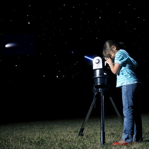 Fun Things to Do at a Sleepover - Stargazing