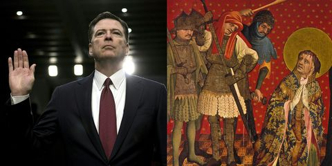 Meddlesome Priest Comey