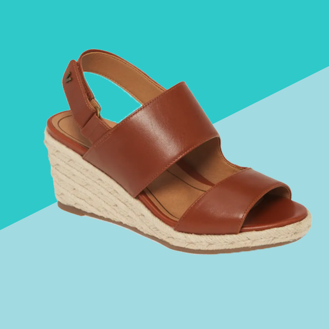 comfortable wedge sandals