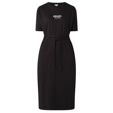 Clothing, Black, Dress, Sleeve, Day dress, Little black dress, Cocktail dress, Jersey, Sheath dress, Robe,