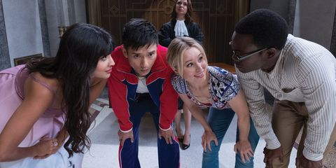 The Good Place Season 2 still image from NBC