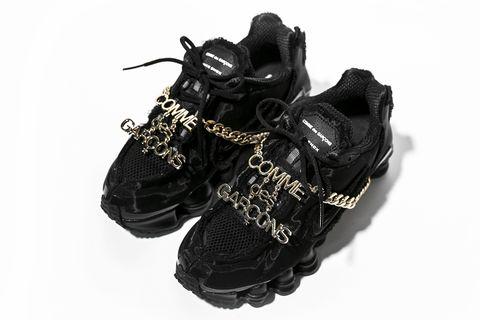Comme des Garçons x Nike Shox彈簧鞋