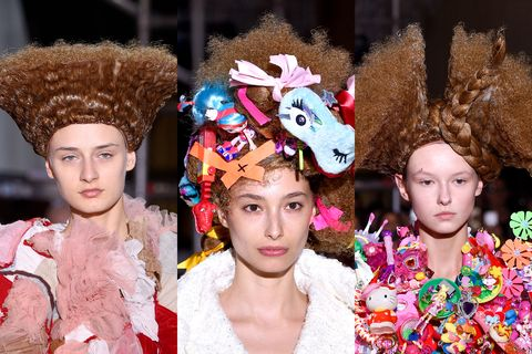 Fashion Week SS18 Hair