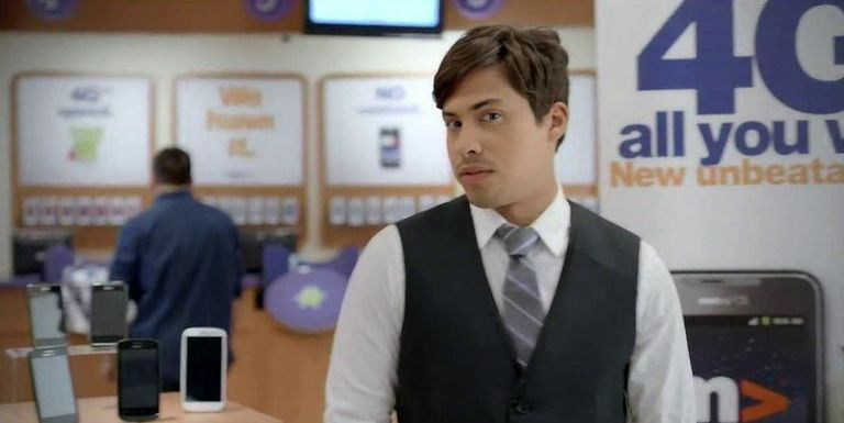 """Gentefied's"" Carlos Santos Was the Star of Those Throwback Metro PCS Commercials"