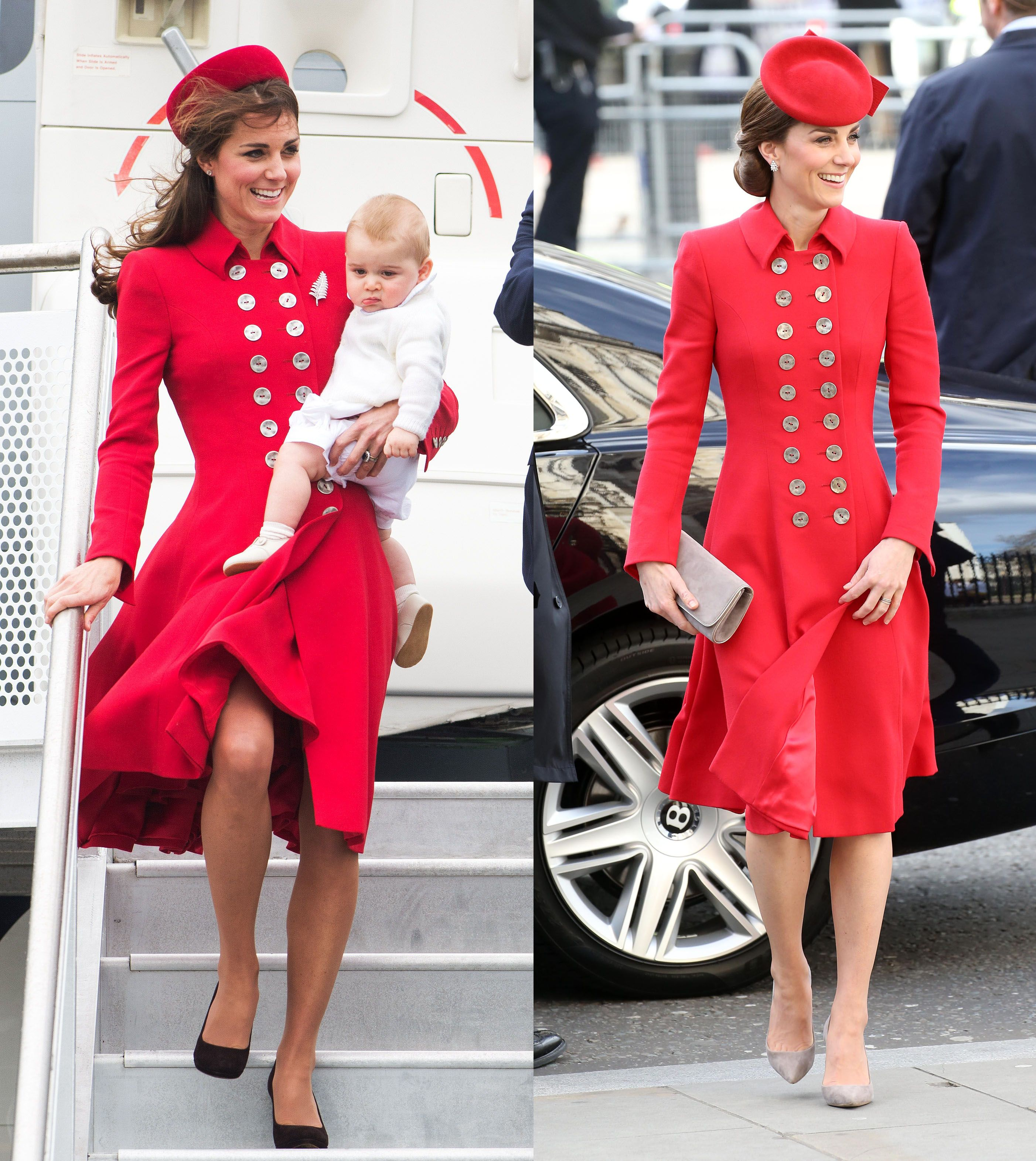 9887ea3c2 Kate Middleton's Best Repeat Outfits - Duchess of Cambridge Rewearing  Clothes