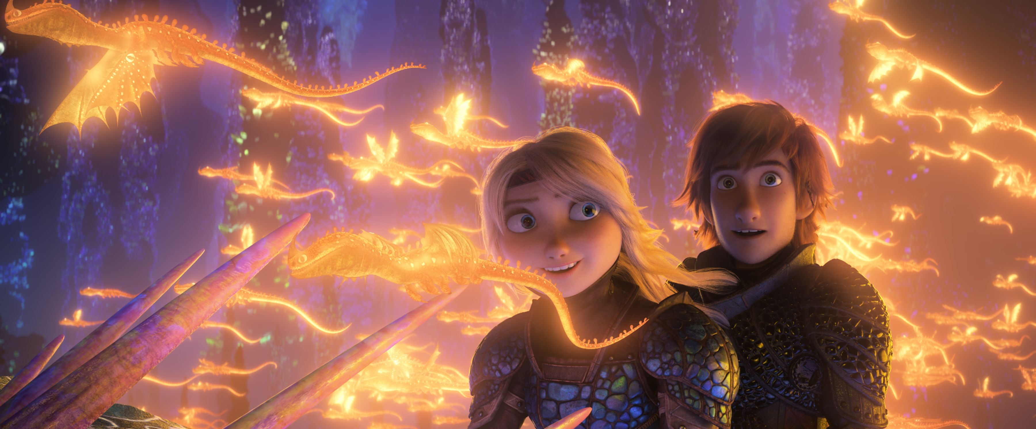 Escena de How to train your dragon