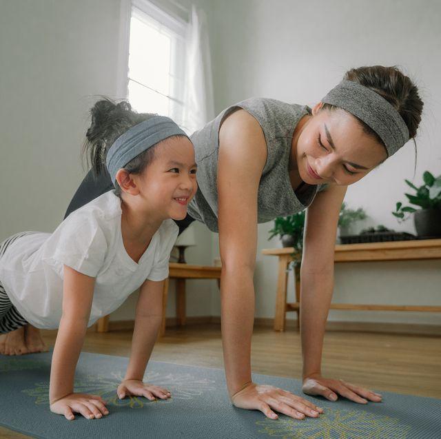 rutinas de ejercicio con niños
