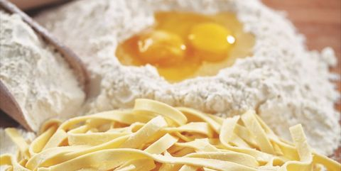 Food, Cuisine, Dish, Ingredient, Carbonara, Noodle, Taglierini, Spaghetti, Capellini, Pici,