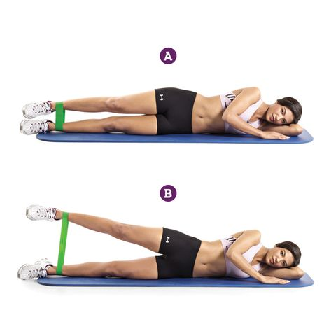 Band Side Leg Raise