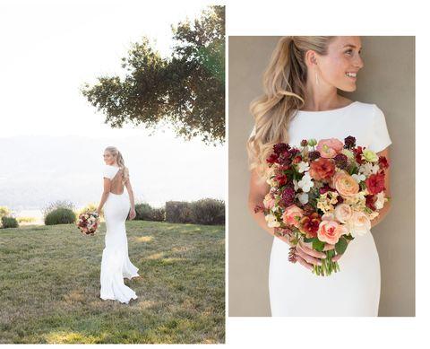 kathrin et bouquet