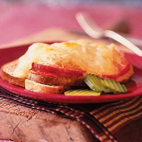 healthy reuben sandwich